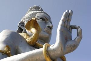 Indien Gold Statue