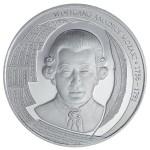 Mozart Medaille Silber Philoro