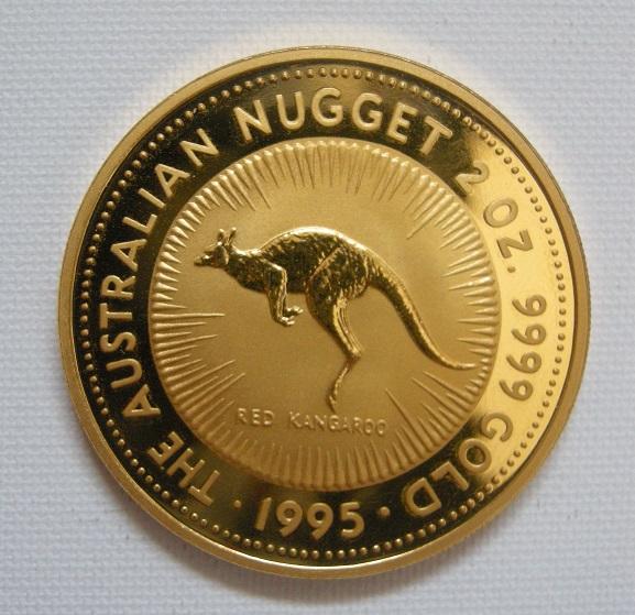 Kanguru Goldmuenze (Foto: Goldreporter)