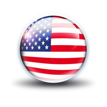 USA, Flagge