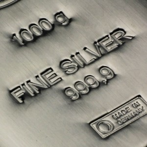 Silberbarren 1 kg Heimer (Foto: ESG - Edelmetall-Service GmbH & Co. KG)