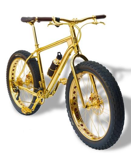 Gold Fahrrad