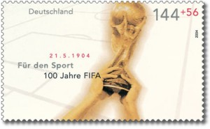 FIFA World Cup Briefmarke
