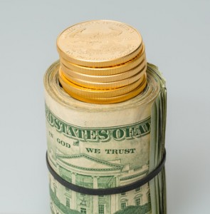 Dollar Gold (steheap-Fotolia.com)