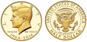 Menschen Stehen Schlange Für Kennedy Gold Dollar Goldreporter