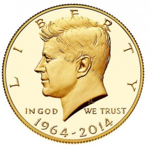 Kennedy Gold Dollar (Foto: U.S: Mint)