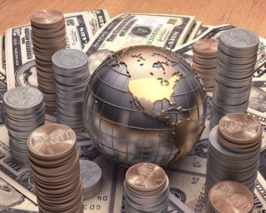 Welt, Geld