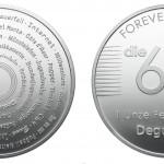 64er Degussa Silber-Unze