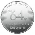 64er Degussa Silber-Unze Vorn