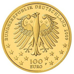 Euro Goldmünzen Muskeln mit