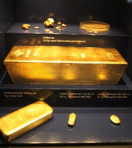 Gold Bundesbank Museum