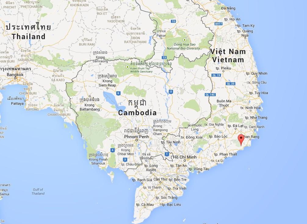 Vietnam Schatzsuche Google