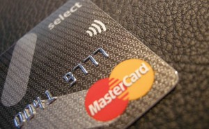 Kreditkarte Funkchip