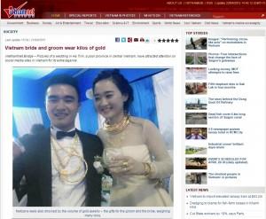 Vietnam Hochzeit