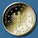 20 Euro Goldmuenzen Heimische Voegel Adler