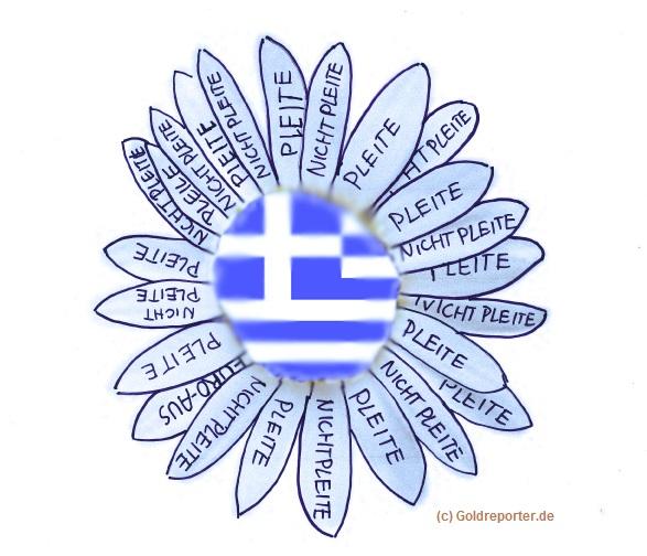 Griechenland Blüte blau