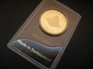 Schweizer Goldbarren 1 Unze