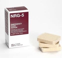 NRG-5, Notnahrung