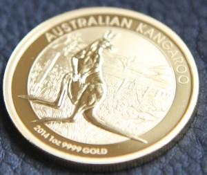 Känguru Goldmünze (Foto: Goldreporter)