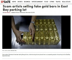 SFG Gold Falsch