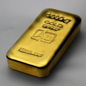 Goldbarren (Foto: ESG Edelmetall-Servie GmbH & Co. KG)