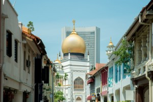 Sultan Mosque centre of islamic culture and traditions in Singapore