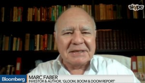 Marc Faber Bloomberg
