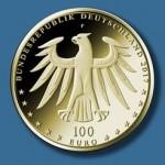100-Euro-Gedenkmünze Luthergedenk vorn