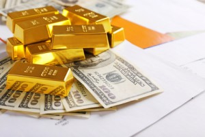 Gold, Dollar, China