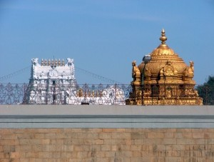 Venkateswara Temple in Tirumala