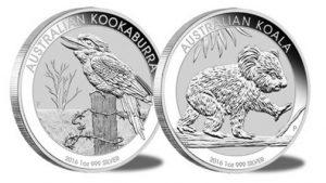 Silbermünzen 2016 Perth Mint