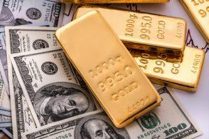 Gold bullion and money