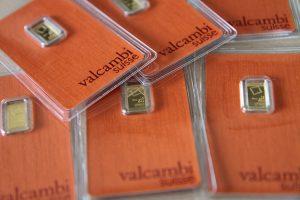 Goldbarren, 1 Gramm, Valcambi (Foto: Goldreporter)