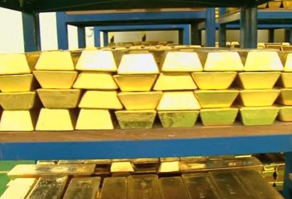 Gold, Goldreserven, Venezuela