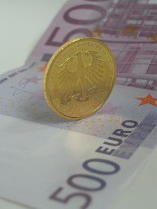 Gold, Geld, Euro