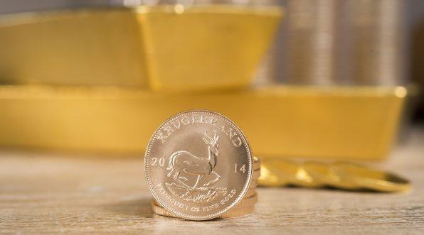 Goldbarren, Goldmünze, Krügerrand, Südafrika