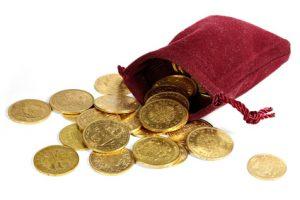 Gold, Goldmünzen
