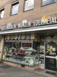 Heubach Edelmetalle, Gold, Laden