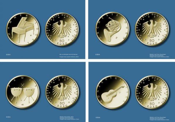 50-Euro-Goldmünzen
