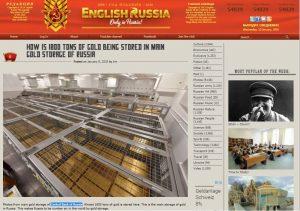 Russland, Goldreserven, Fotos