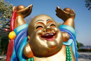 Gold, China, Buddha