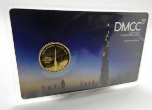 Goldmünze Burj Khalifa