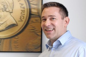 Dominik Lochmannist Geschäftsführer derESG Edelmetall-Service GmbH & Co. KG.