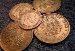 Goldmünze, Kaiserreich