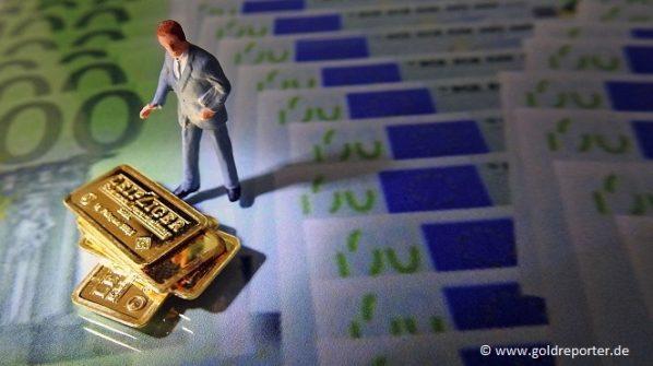 Gold, Euro, Banken