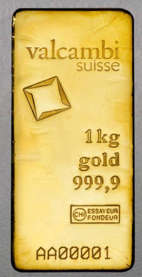 Goldbarren, 1 Kilo