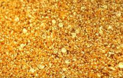 Gold-Granulat