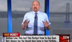 Gold, Jim Cramer, Mad Money