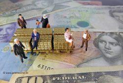 Gold, Währungen (Foto: Goldreporter)