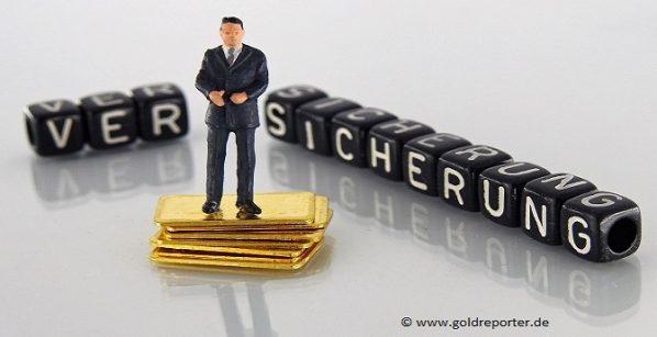 Gold, Goldpreis, Versicherung (Foto: Goldreporter)